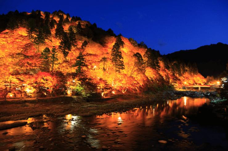 紅葉スポット22_香嵐渓