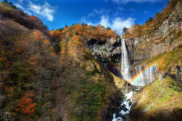紅葉スポット8_華厳の滝