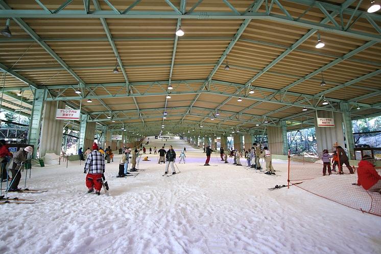 ゲレンデ_狭山スキー場